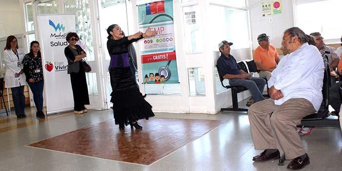 Fomentando la danza como medida preventiva Salud Machalí conmemora el Mundial del Ataque Cerebro Vascular