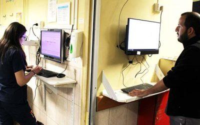 """Hospital San Fernando implementa el """"dato electrónico"""" para Urgencias"""