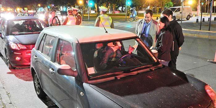 Importante labor preventiva realizan por seguridad vial y de transporte de pasajeros en la Región