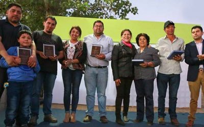 Inauguran obras de remodelación de estadio municipal de Los Olmos de Palmilla
