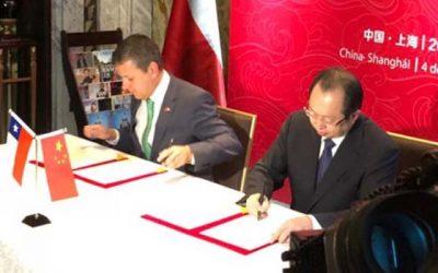 Intendente firma hermanamiento con provincia china de Shanxi que reforzará el liderazgo comercial de O'Higgins