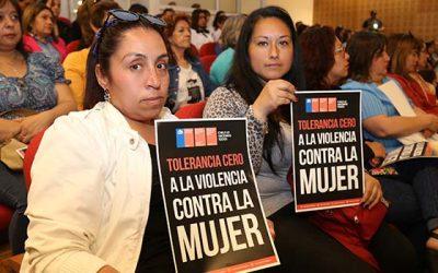 Intendente lidera lanzamiento de campaña tolerancia cero a la violencia contra la mujer