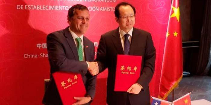 Los beneficios para la Región del hermanamiento firmado por el Intendente con provincia china de Shanxi