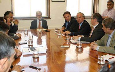Ministro de Obras Públicas impulsó estudio de factibilidad del Paso Las Damas