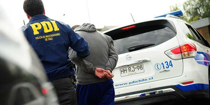 pdi detenido auto robo