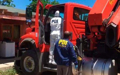 PDI recupera tres camiones avaluados en más de 200 millones de pesos en la región metropolitana