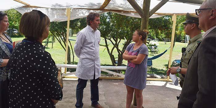 Seremi de Salud junto a Carabineros allana centro de rehabilitación de drogas clandestino