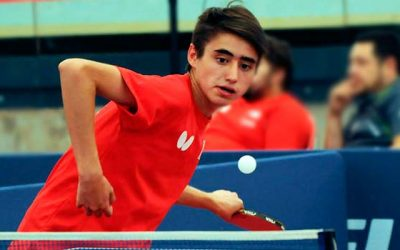 Tenimesista paralímpico rancagüino va por el título en España