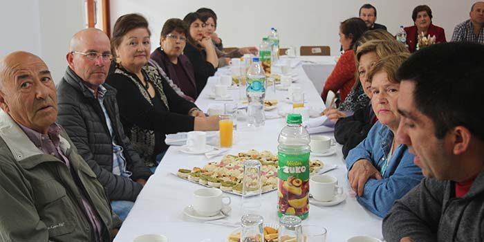 16 juntas de vecinos de Olivar reciben aporte municipal para realizar sus proyectos