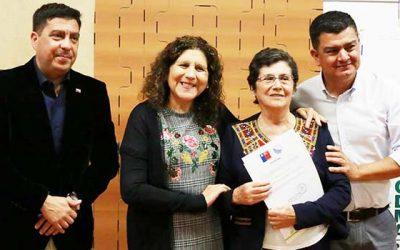 Alcaldesa de Palmilla recibe importante reconocimiento medio ambiental