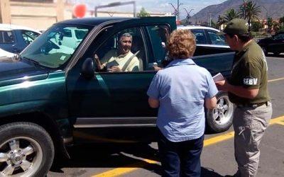 Carabineros llama a prevenir robo de regalos al interior de vehículos