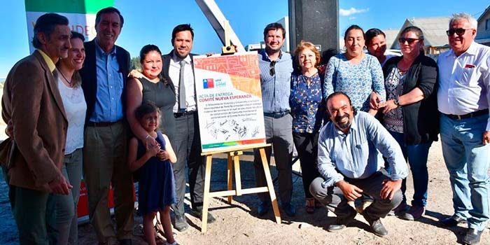 Comité de vivienda Nueva Esperanza de Peralillo por fin inició el camino a la vivienda propia