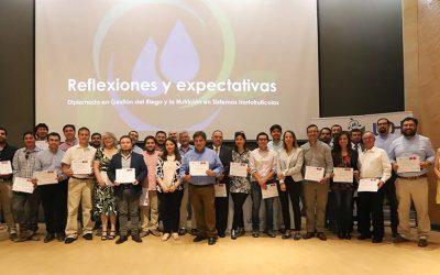 Con éxito finaliza el primer Diplomado UOH Gestión del Riego y la Nutrición en Sistemas Hortofrutícolas