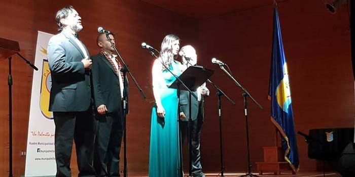 Con hermosa gala lírica Palmilla celebra su aniversario 127