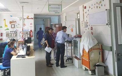 Consejo consultivo realiza visitas a Pediatría y Departamento de la Mujer