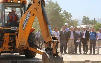 Dan inicio a obras que unirán Rancagua Machalí por República de Chile