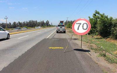 EL MOP mejora calidad de ruta travesía
