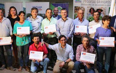 Entregan la primera ayuda a pequeños agricultores afectados por intensa granizada