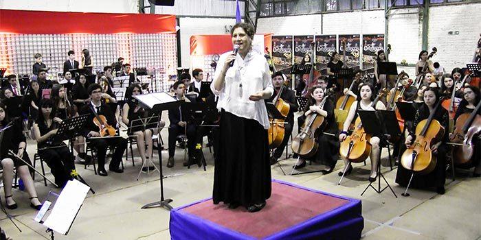 Exitosa realización de quinto campamento rural de orquestas sinfónicas Palmilla 2018