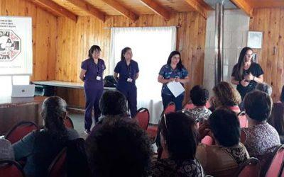 Hospital Pichilemu capacita a cuidadores de postrados