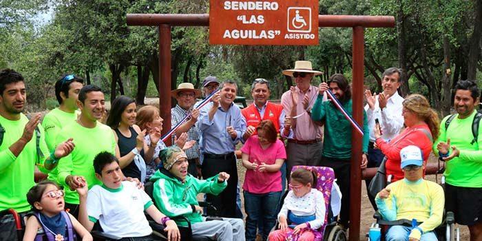 Inaugurado sendero inclusivo en la Reserva Nacional Río de Los Cipreses