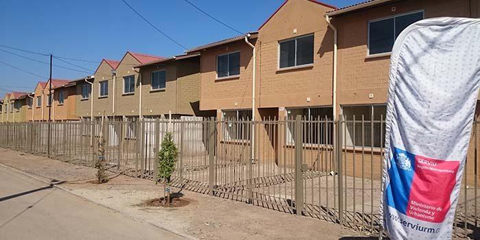 Inauguran proyecto de viviendas de integración social en Padre Hurtado