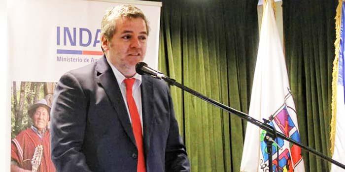 Ingeniero Agrónomo Juan García asume como nuevo director regional del Indap O'Higgins
