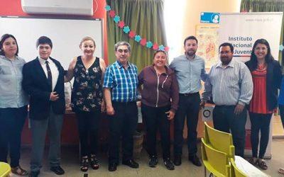 Injuv O'Higgins realiza cierre de Escuelas de Ciudadanía con alumnos de Rengo