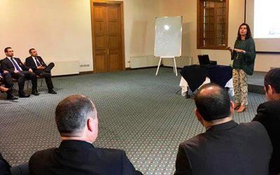 Jueza presidenta del TOP de Rancagua dictó charla a funcionarios de la PDI