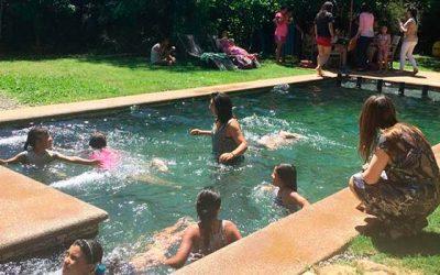 Juzgado de Letras y Familia de San Vicente organizan actividad navideña para niñas de residencia