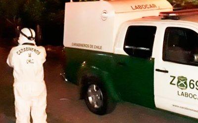 Labocar investiga robo a camión repartidor de cigarros