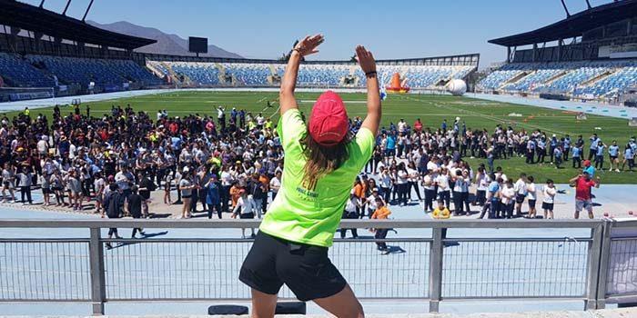 Masiva fiesta de actividad física puso fin a las Escuelas Deportivas Integrales 2018