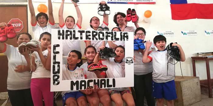 Ministerio del deporte potencia el levantamiento de pesas en Machalí