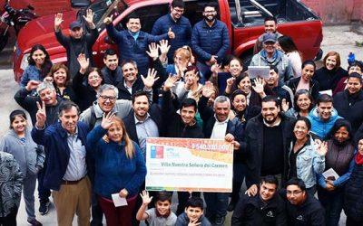Minvu OHiggins y Municipalidad de Rancagua cumplen compromiso con vecinos de Villa Nuestra Señora del Carmen II