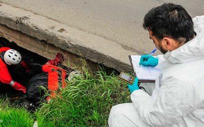 PDI investiga hallazgo de cadáver al interior de un en canal de regadío en Rancagua