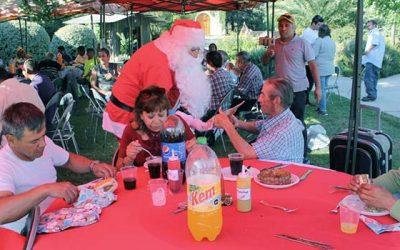 Personas en situación de calle celebran Navidad gracias a Mesa Comunal que trabaja dicha temática
