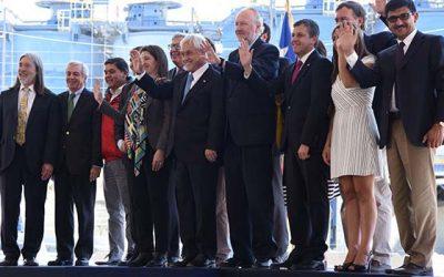 Presidente Piñera inaugura proyecto de expansión de Minera Valle Central