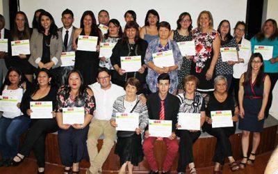 Programa Profocap entrega herramientas para insertase en el mundo laboral a 131 personas de la Región