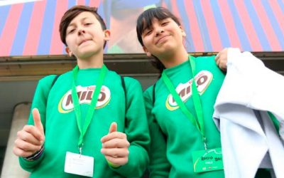 Rocío y Bruno después de su experiencia en Barcelona el esfuerzo y perseverancia son claves para el éxito