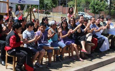 Salud Machalí beneficiará a más de 350 familias con construcción de Plaza Saludable