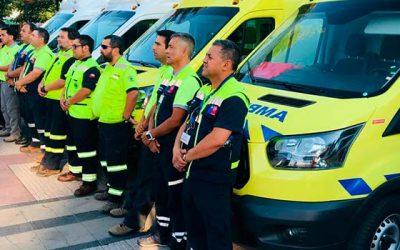 SAMU O'Higgins renueva su flota con 3 modernas ambulancias