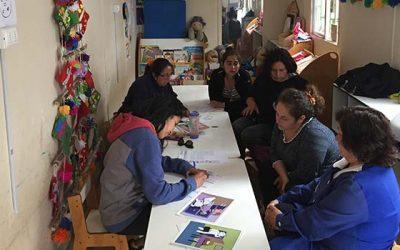 Segundo taller de habilidades preventivas parentales para padres e hijos de la localidad de Cáhuil