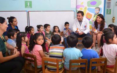 Seremi de Salud refuerza con niños de Fundación Integra los cuidados de la radiación Ultravioleta