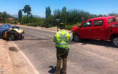 Accidente deja un fallecido en la ruta H-50