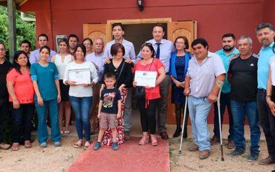 Agrupaciones reciben Fondo Social Presidente de la República