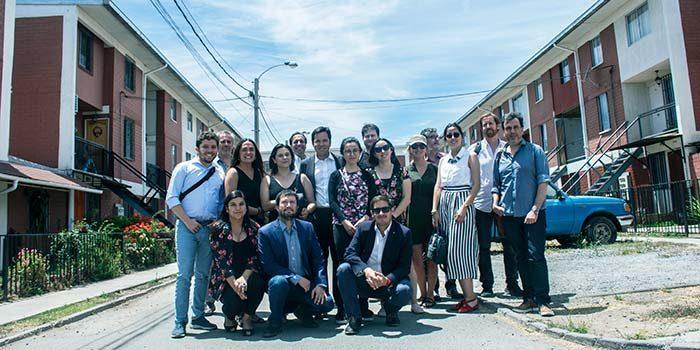 Autoridades Minvu y delegación argentina visitan emblemático proyecto habitacional Punta del sol