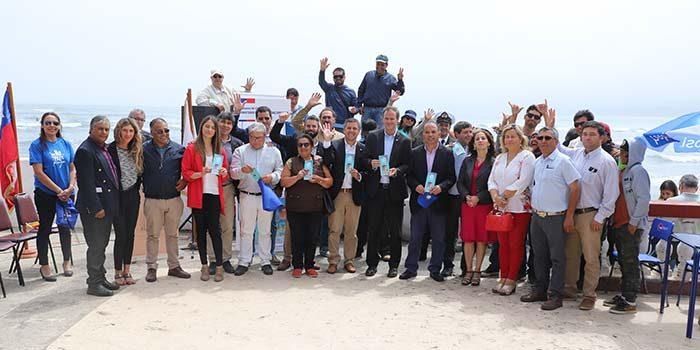 Autoridades refuerzan campaña Que no te falte playa en Pichilemu