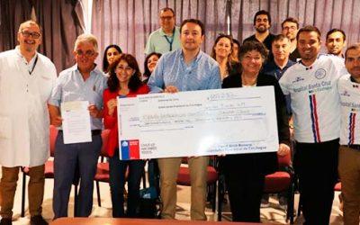 Club Hospital Santa Cruz recibe recursos para potenciar rama de fútbol