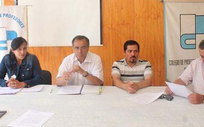 Colegio de Profesores denuncia abuso de normativa legal para despedir a profesores