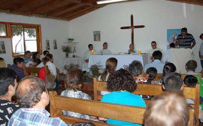 Comunidad de Valdebenito de Las Cabras cuenta con remodelada capilla